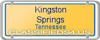 Kingston Springs board